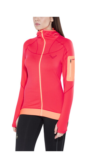 Dynafit Traverse Thermal - T-shirt manches longues running Femme - rose